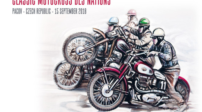 Plakát Classic motocross 2018